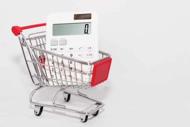 ショッピングのお会計