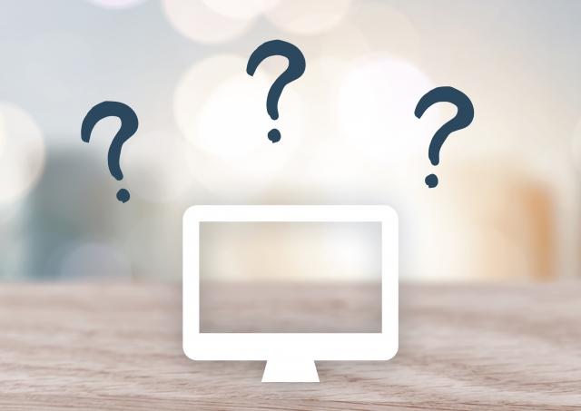 パソコン操作での疑問